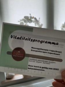 vitaliteitsprogramma, vitaliteit, oersterk, preventieve gezondheid, holistisch, holistische aanpak, leefstijl, leefstijlcoaching, massagetherapie, energetische therapie, balans, holistisch, integrale gezondheidszorg, healing, mindfulness, slapen, ontspanning, rus t, stress, burn-out, depressie, overgewicht, depressief, gezond leven, richard de leth, holistische therapie, holistisch therapeut, leefstijlcoach, sheila Haanstra-van Kan, massage Breda, healing Breda, coaching Breda, gezondheidspraktijk Breda, wellness Breda, vitaal leven, beter leven, trajectkaart, vitaliteitstrajectkaart, eszensa wellness, behandelsessies